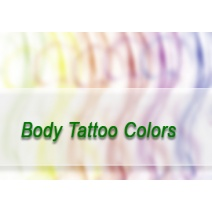 Body Tattoo Colors