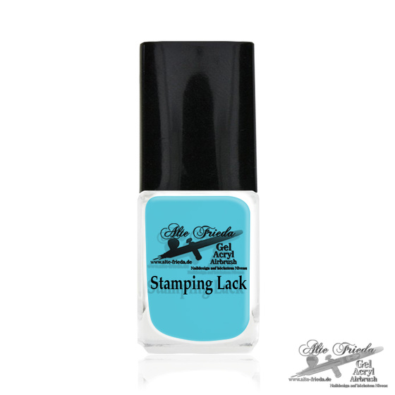 Stamping Farbe Pastell Blue