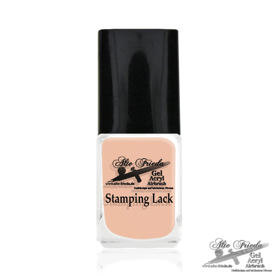 Stamping Farbe Pastell Nude