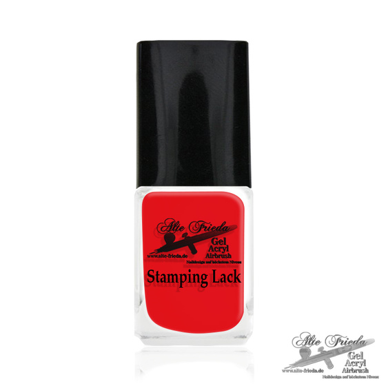 Stamping Farbe Pure Red