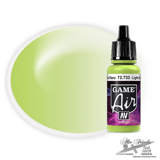 Vallejo Game Air 733 Livery Green, 17 ml