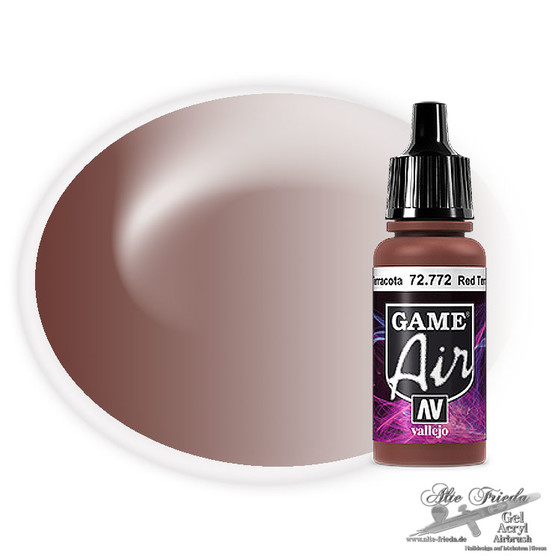 Vallejo Game Air 772 Red Terracotta, 17 ml